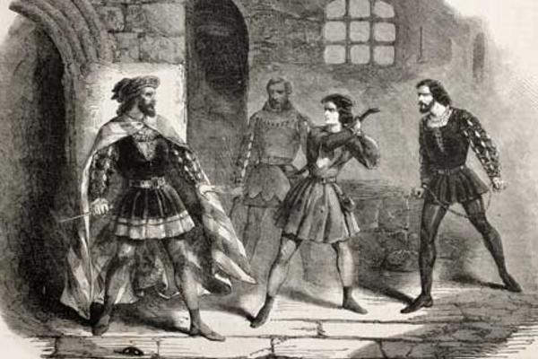 Black and white image of fidelio