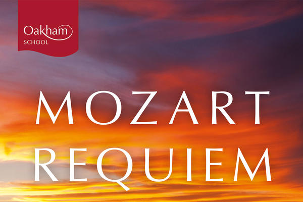 Image with the words Mozart Requiem