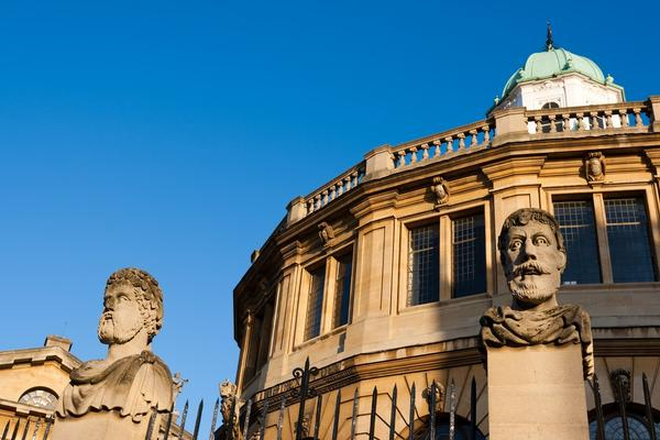 External shot of Sheldonian Theatre