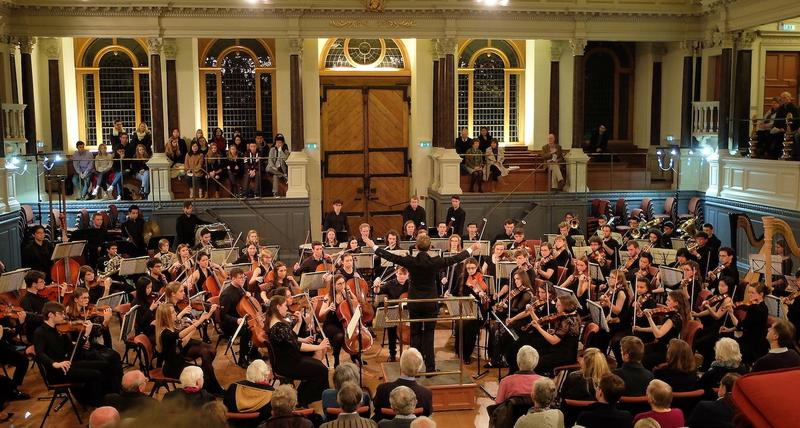 Photo of Oxford University Orchestra in the Sheldonian